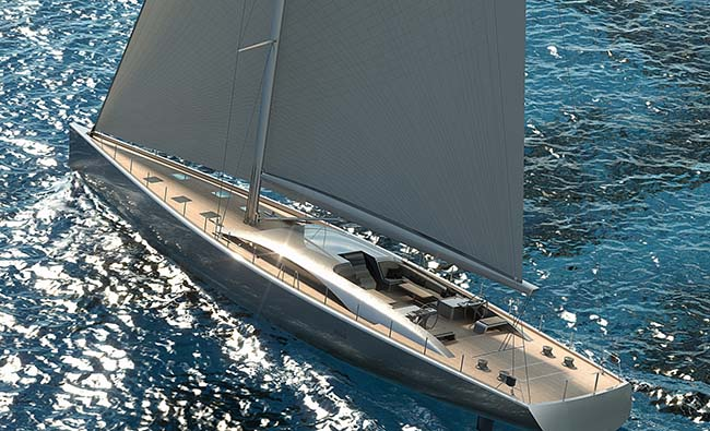 The New Pura Superyacht by Royal Huisman is Spectacular