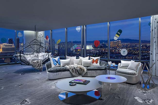 The Damien Hirst Suite At The Palms In Vegas Costs