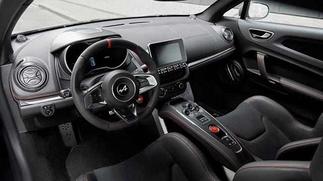 Alpine A110 S Coupe interior