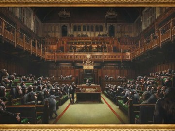 Banksy Devolved Parliament