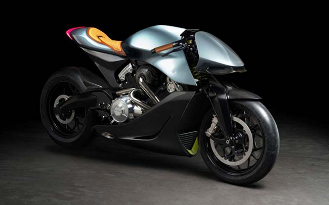 AMB 001 Motorcycle by Aston Martin