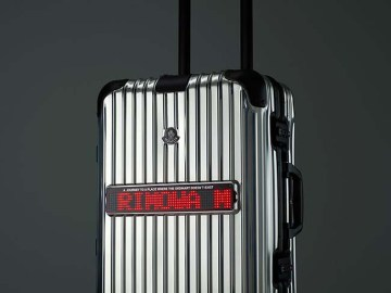 Rimowa x Moncler Reflection Collaboration