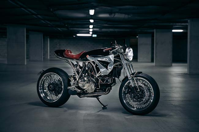 Ducati GT1000 Sport Classic Cafe Racer by Purpose Built Moto