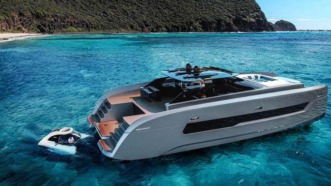 Aquanaut Catamaran