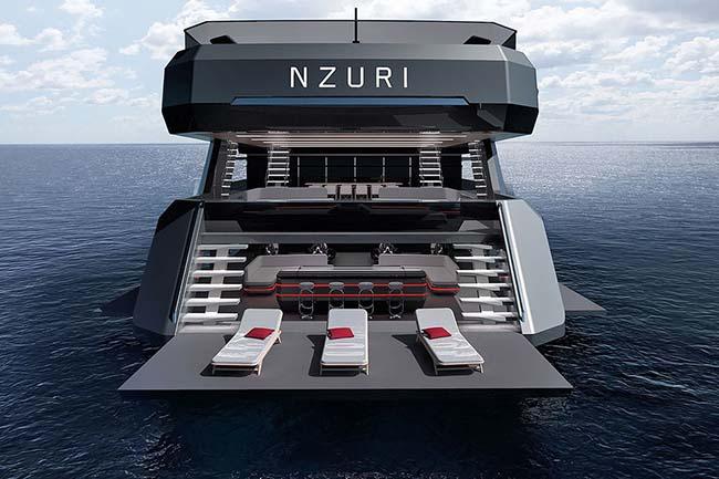 Nzuri Superyacht Concept