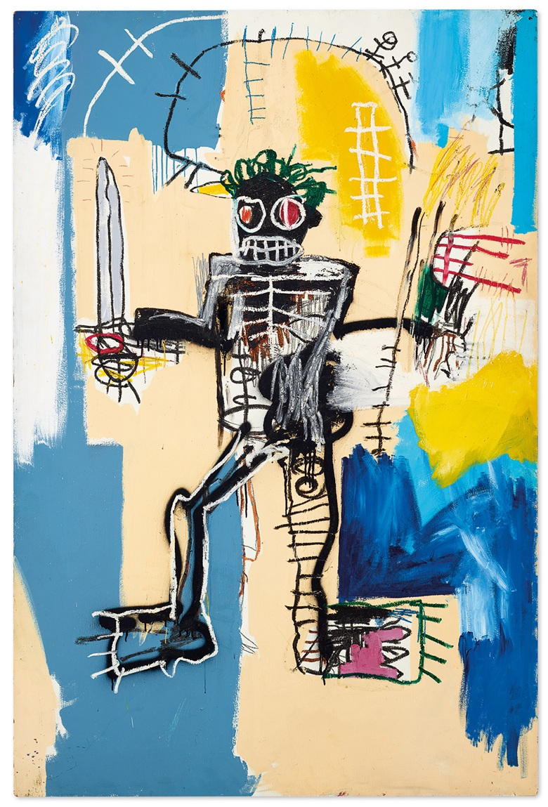 Jean-Michel Basquiat Warrior