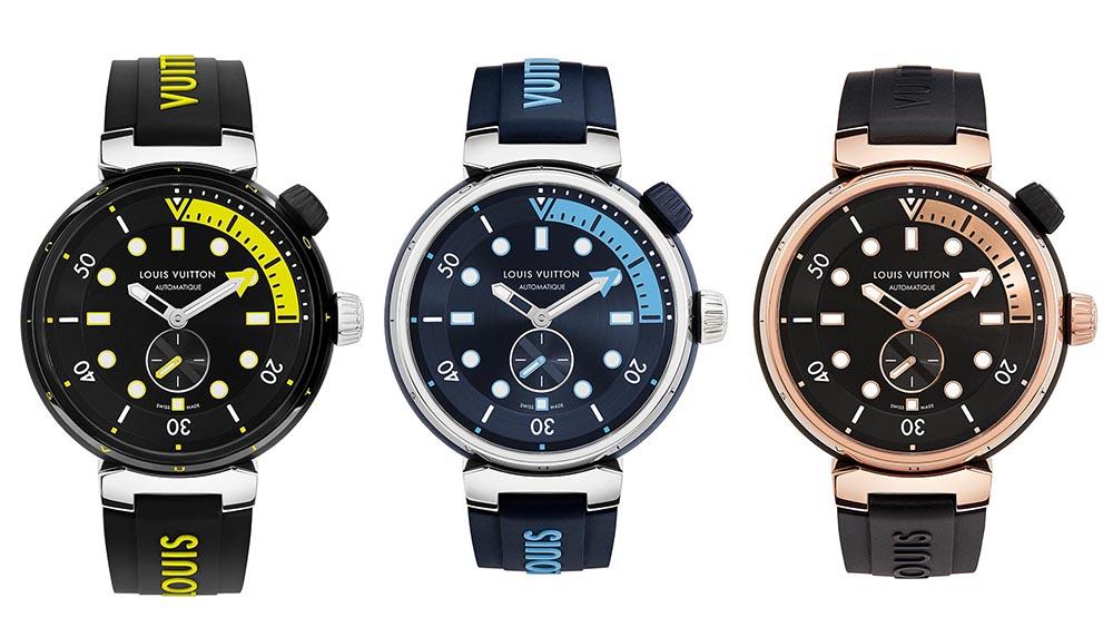 Louis Vuitton Tambour Street Diver Watch Collection