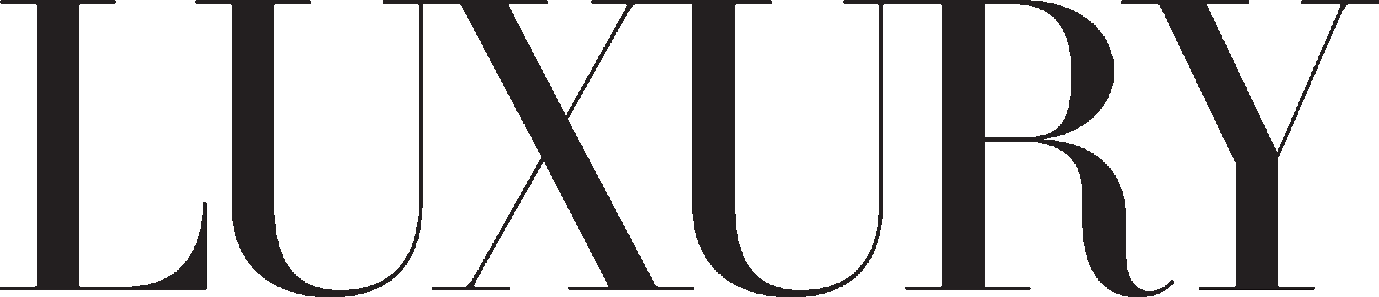 LUXURY logo black