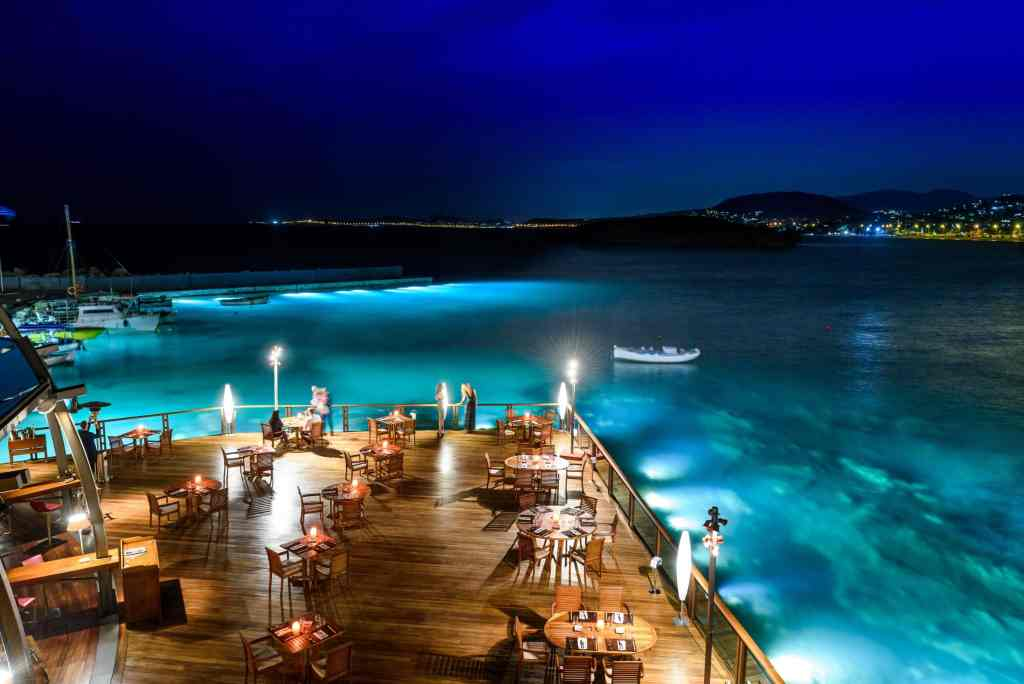 Kohylia Restaurant at Grand Resort Lagonissi