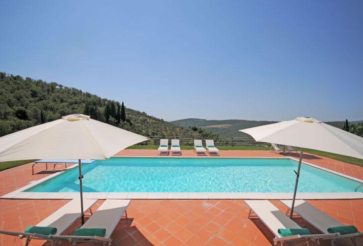 Perfect Tuscan Villa near Gaiole in Chianti (Ideal Tuscany Wedding Venue)