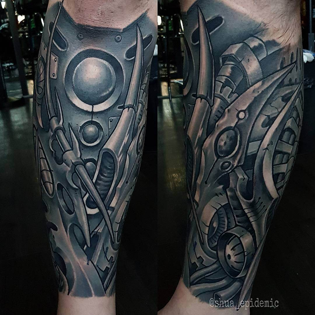Luxury Ink Bali Tattoo Gallery Biomechanical Style106