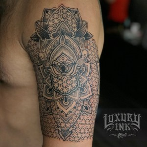 Luxury Ink Bali Tattoo Gallery Blackwork style103