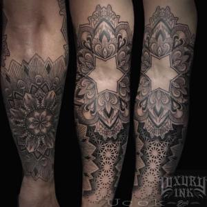 Luxury Ink Bali Tattoo Gallery Blackwork style113