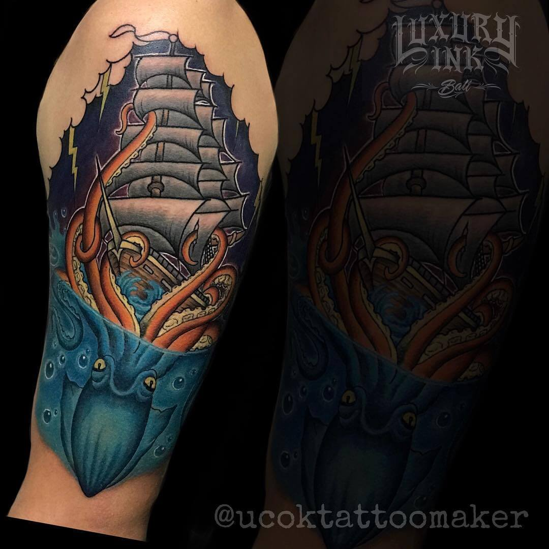 Luxury Ink Bali Tattoo Gallery Traditional Style105