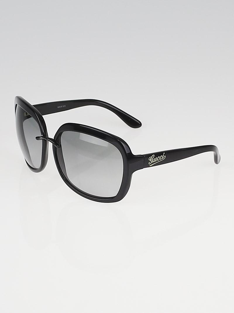 3c3fc34403f Gucci Black Frame Gradient Tint Sunglasses - Luxurylana Boutique
