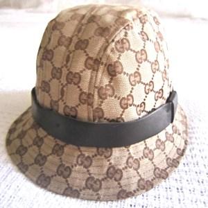 Gucci GG Jacquard Guccissima Fedora Hat