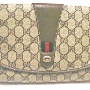 Gucci Supreme Vintage Monogram Clutch