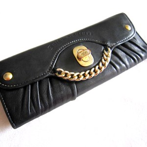 Juicy Couture Black Long Wallet