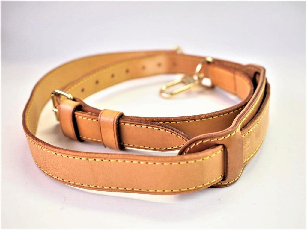 7fa0ba345abb Louis Vuitton Adjustable Leather Shoulder Strap for Keepall ...