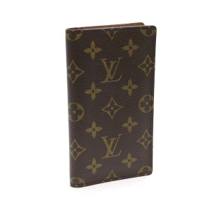 Louis Vuitton Monogram Bi-fold Checkbook Case