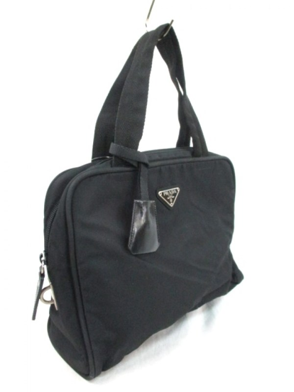 957b85db6f55 Prada Vintage Black Nylon Tote - Luxurylana Boutique