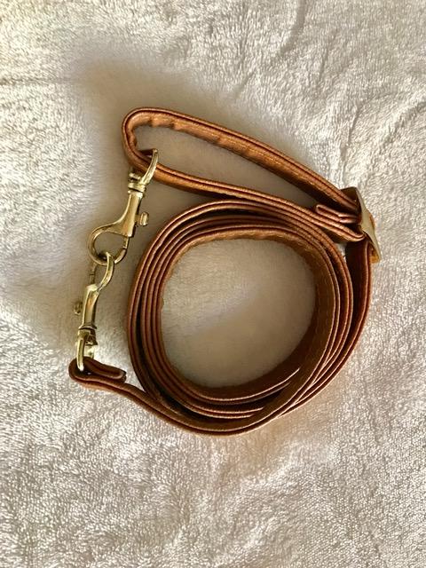 Tan Leather Handbag Strap