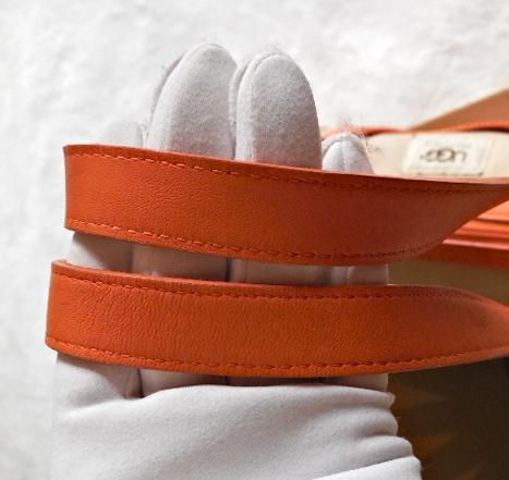 UGG Orange & Sand Papillon Handbag-5