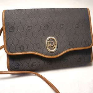 Christian Dior Vintage Signature Crossbody Bag