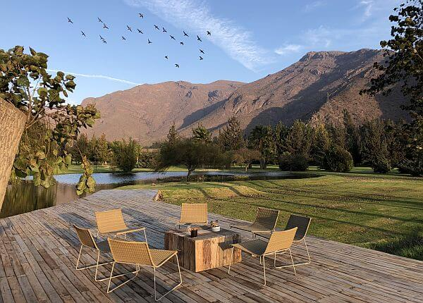 golf course Elqui Valley Chile