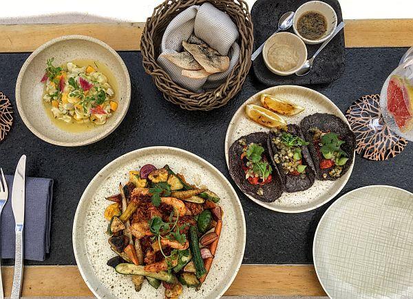 dining at Chable Maroma Riviera Maya