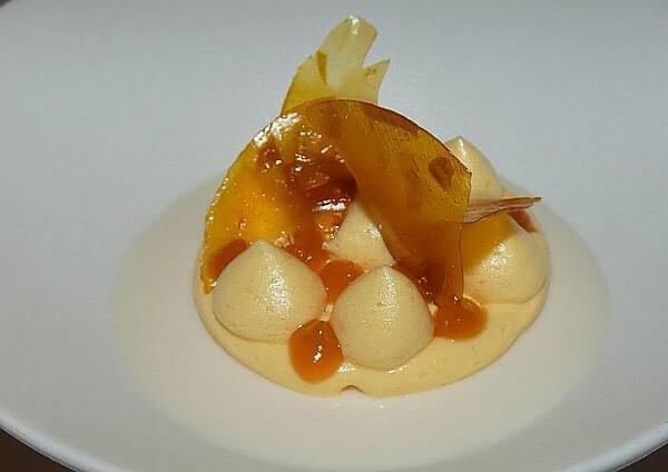 dessert at Bella Restaurant Le Blanc Cancun