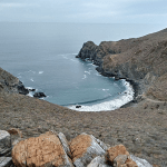 hiking near Todos Santos in Baja