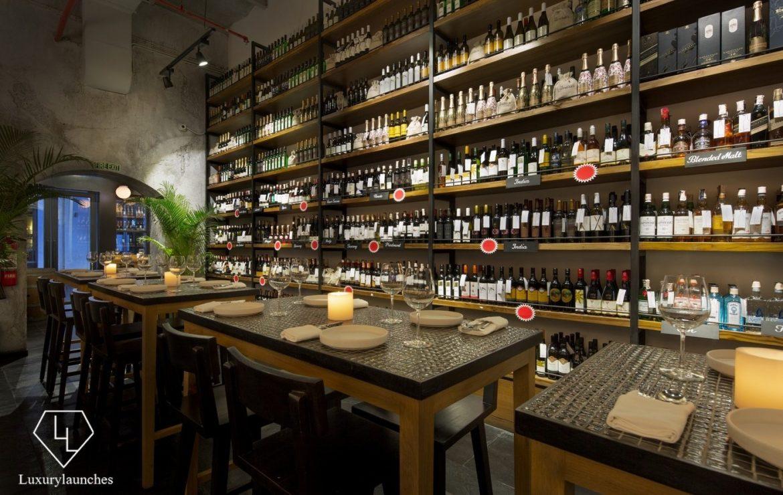review wine rack lower parel mumbai