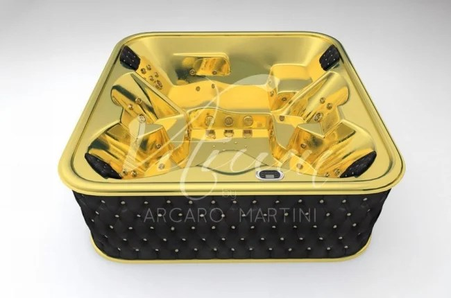 Worlds First 24 Carat Gold Bathtub Is Available Exclusively In UAE