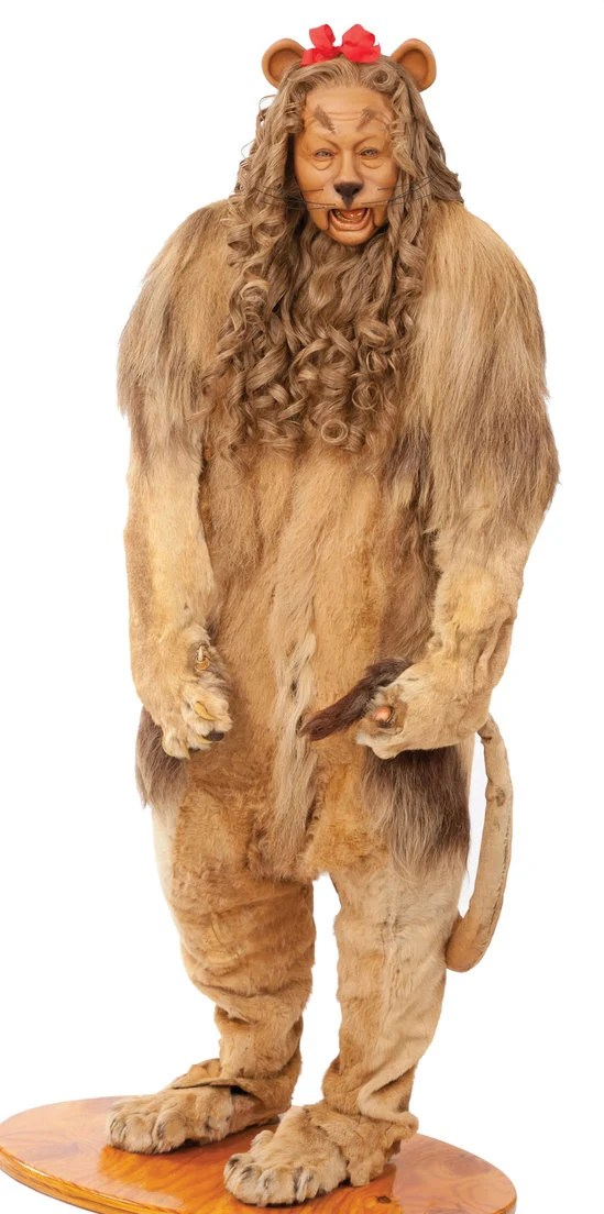 Cowardly Lion Costume From The Wizard Of Oz Is Up For
