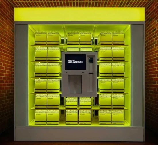 Hudson Hotel Gets A Luxury Vending Machine For Its Guests