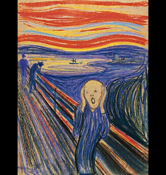 Famous Drawing Quot The Scream Quot Will Be Auctioned Off For 80