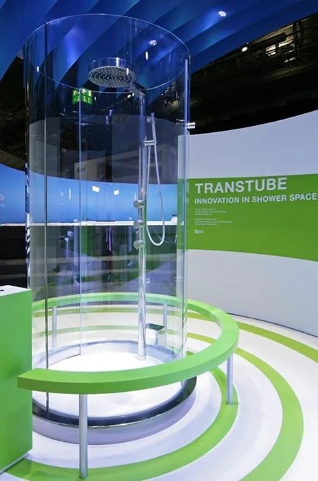 Transtube 360 Degree Shower To Bath In A Stylish Closet