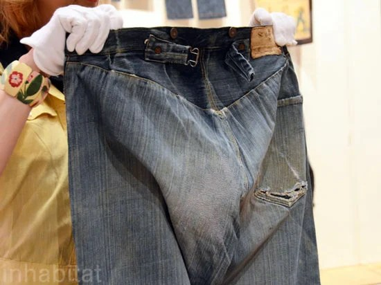 The World S Oldest Pair Of Levi S Jeans Is Estimated At