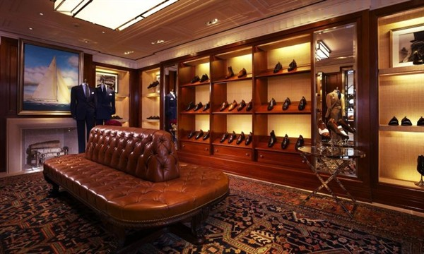 Ralph Laurens Mens Flagship Store In Hong Kong Is The