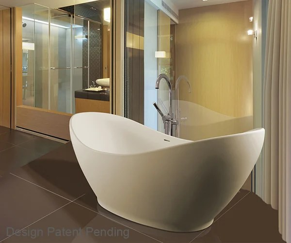 MTI Baths Juliet Freestanding Tub Splashes Glamor Into A