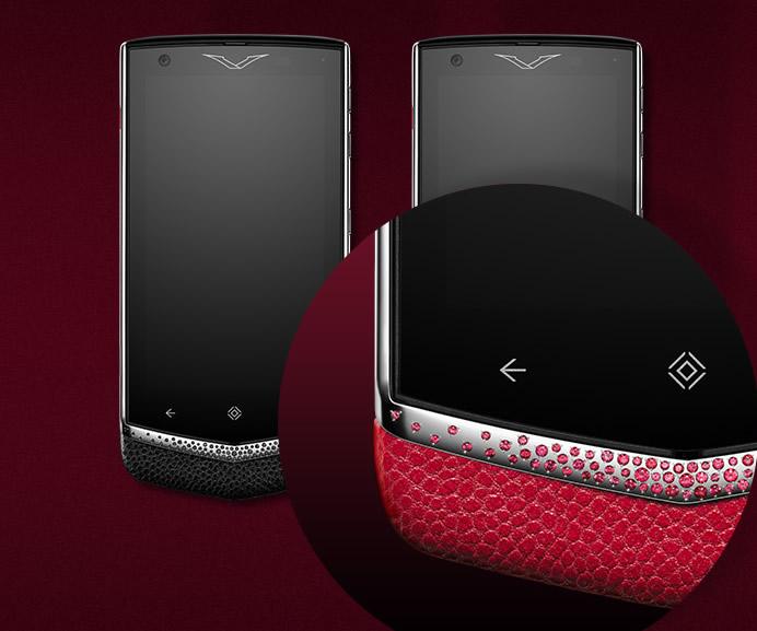 Vertu Constellation Gemstone Edition Mobile Phones Are