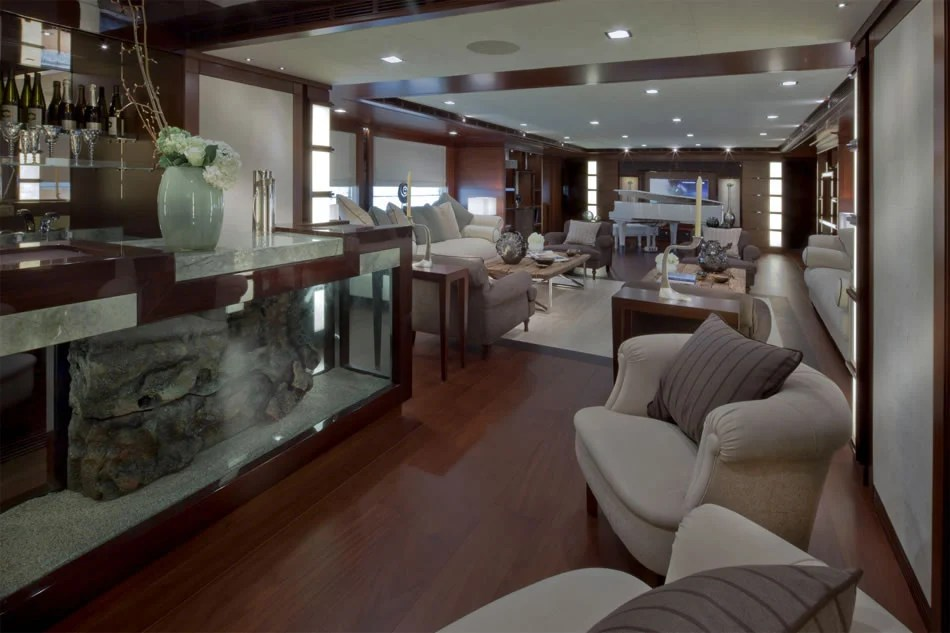 Jade Megayacht By CRN Boasts The Worlds First Floating