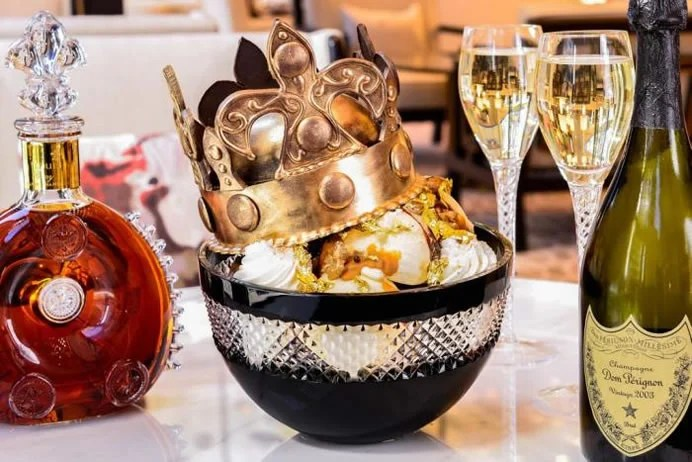 The $1,000 Victoria Ice Cream Sundae is named after the England ...