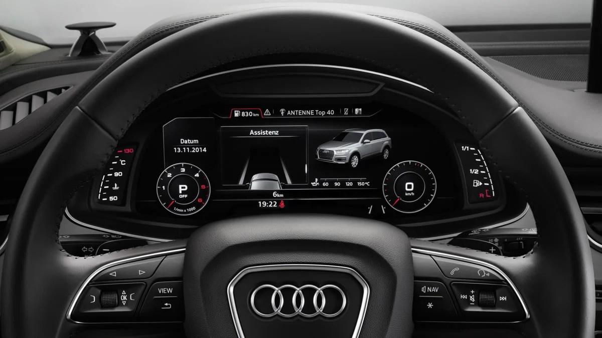 Auf wunsch können sie bei. 2016 Audi Q7 will arrive with a refined MMI, virtual