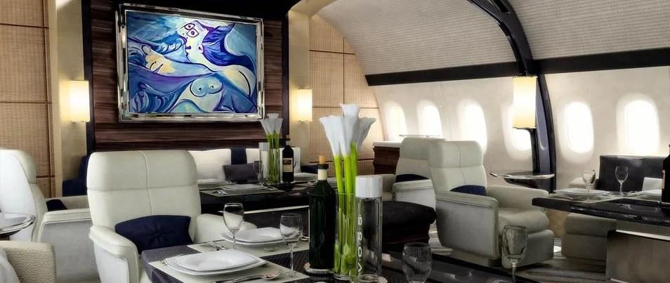 Boeing S Custom Designed 787 900 Dreamliner Is The