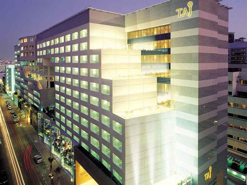 Taj Group S Latest Inauguration Taj Dubai Is At The Heart