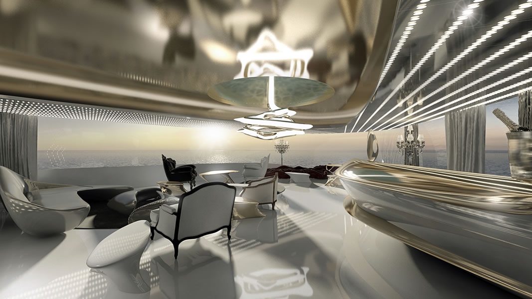 Behold The Admiral X Force 145 An Uber Luxury Mega Yacht With Helipads Cinemas And Spa