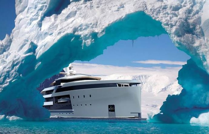 Breaking The Ice Between Luxury And Adventure Is The 150
