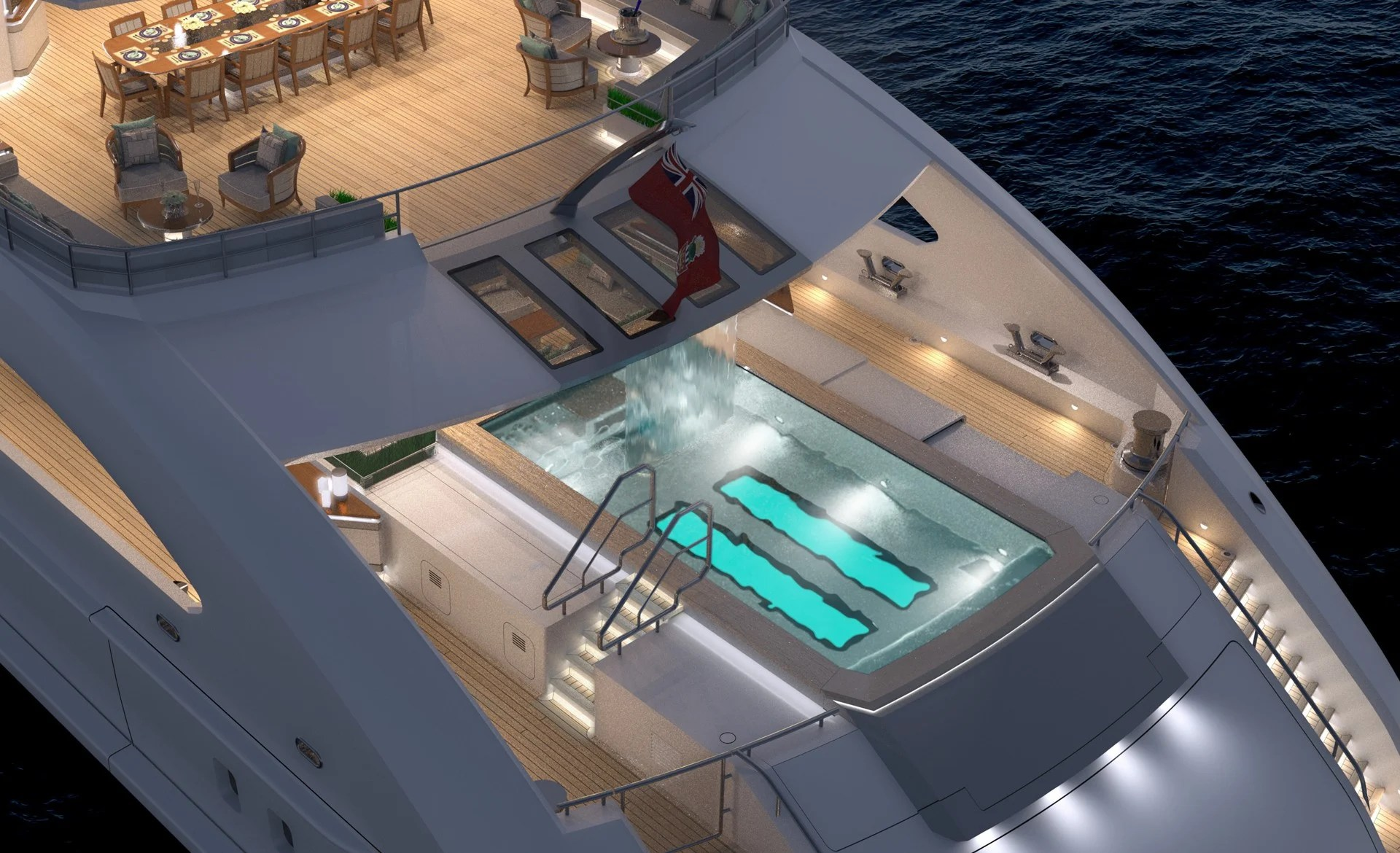 5 Super Yachts With Waterfalls In Them
